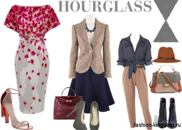 Как подобрать одежду по типу фигуры: фото пример модных комплектов для фигуры «Х».