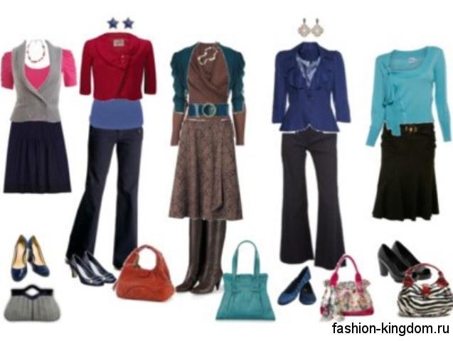 Практичные комплекты для женщин с типом фигуры груша.