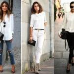 Модные белые блузки – 35 фото актуальных фасонов