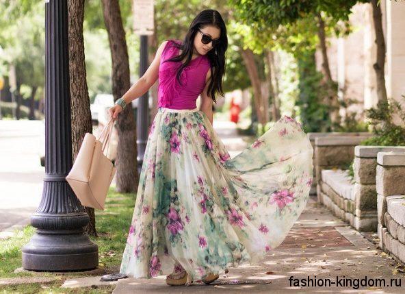 Модные юбки макси – 40 популярных моделей, куда и с чем носить