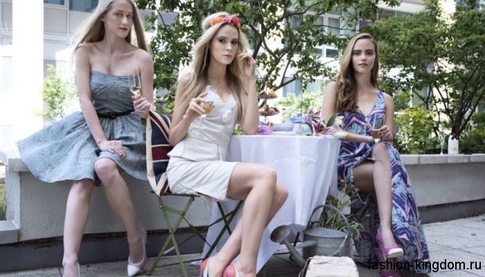 Женский гардероб весна-лето 2016