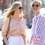 Красивые женские блузки: как подобрать, с чем носить, 50 фото