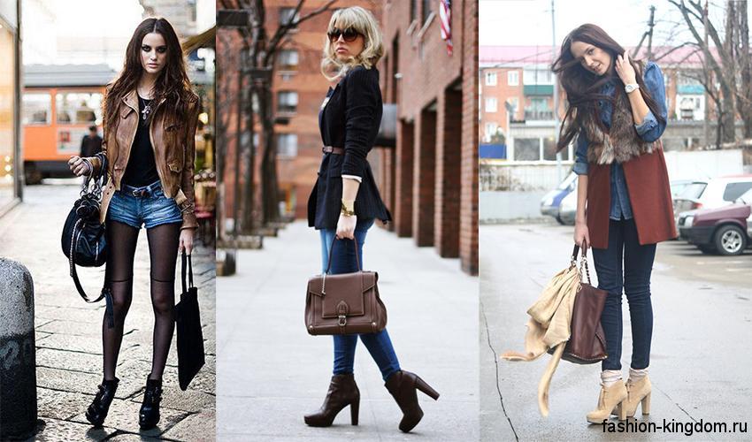 Модные женские ботильоны