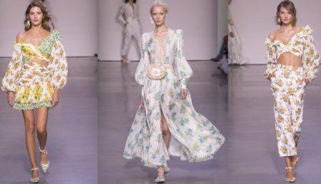 Женская одежда сезона весна-лето 2018