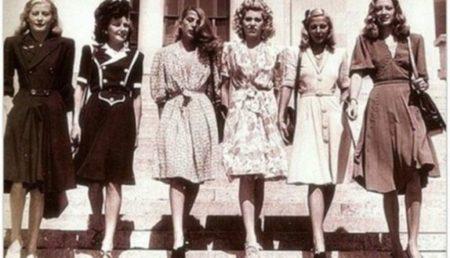 История моды 40-х годов